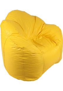 Puff Ostra Pop Amarelo