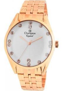 Relógio Champion Analógico Cn25547Z Feminino - Feminino-Rosa