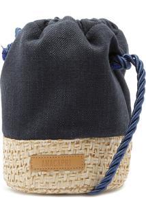 Bucket Linho Azul Marinho | Anacapri