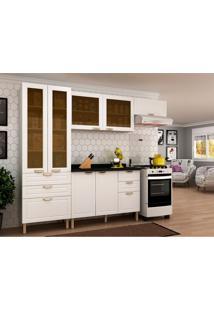 Cozinha Compacta Nevada 7 Pt 6 Gv Branca