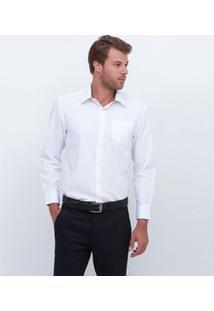 Camisa Manga Longa Social Básica