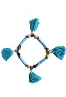 Pulseira Verão Ania Store Mar De Arruba - Feminino-Azul