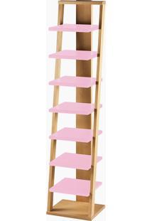 Prateleira Stairway Rosa Laca M121
