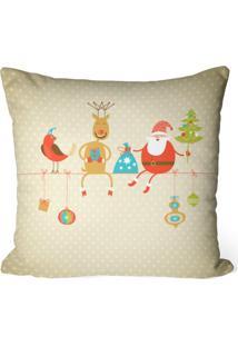 Capa De Almofada Love Decor Avulsa Decorativa Cute Natal - Kanui