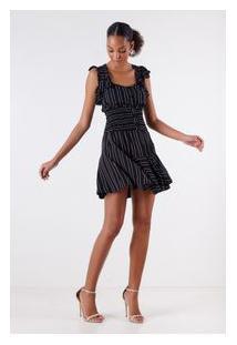 Vestido Line Black