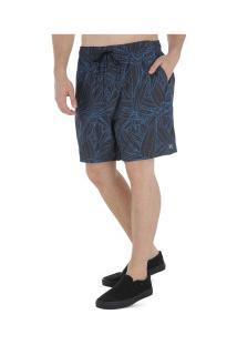 Bermuda Hurley Pupuke - Masculina - Azul Escuro
