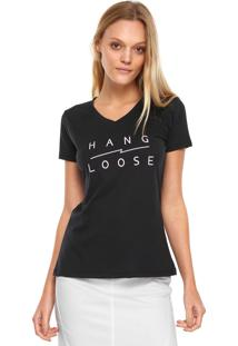 Camiseta Hang Loose Basic Preta