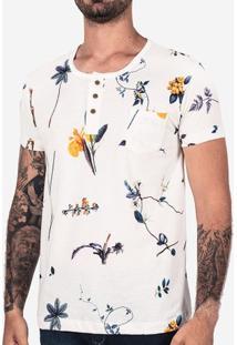 Camiseta Henley Branchs 101855