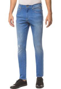 Calça Jeans Ckj 026 Slim - Azul Royal - 38