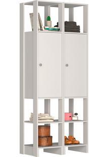 Guarda-Roupa Modulado Closet 107107 - Nova Mobile - Branco