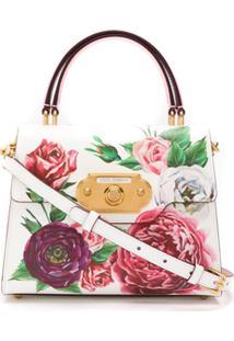 2ce421230 ... Dolce & Gabbana Bolsa Tote Sicily Estampada - Branco