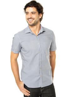 Camisa Richards Casual Azul