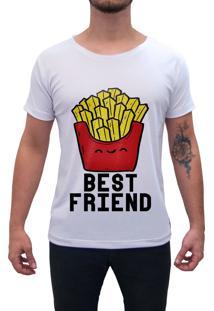 Camiseta Estampada Impermanence Best Friend Branca