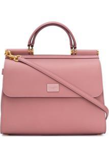 Dolce & Gabbana Bolsa Sicily 58 - Rosa
