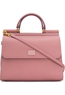 Dolce & Gabbana Bolsa Tote Sicily 58 - Rosa