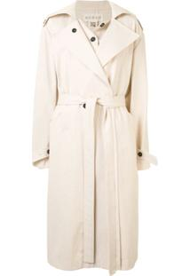 Ruban Trench Coat - Neutro