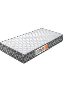 Colchão De Casal Compactor Double Face D-33 198X158X24 Branco C/Xadrez Celiflex