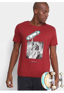 Camiseta Mood Living In The City Masculina - Masculino