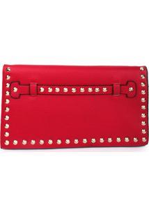 Bolsa Carteira Real Arte Spike Vermelha