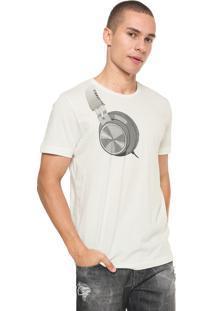 Camiseta Sommer Estampada Off-White