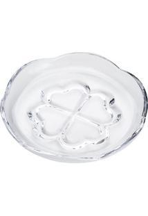 Prato Para Sobremesa Saigon- Cristal- 5,5Xø16,5Cm