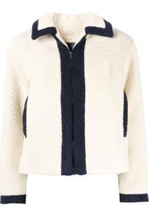 Holiday Ewa Shearling Jacket - Branco