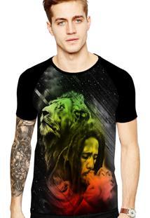 Camiseta Stompy Tattoo Rock Collection 155 Preto