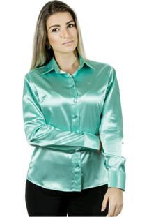 fb70f3ed43 Camisa Elastano Rosa feminina