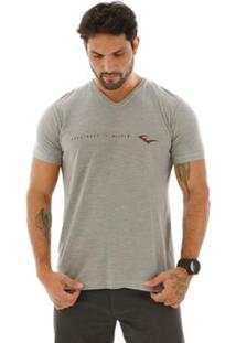 Camiseta Everlast - Masculino-Cinza