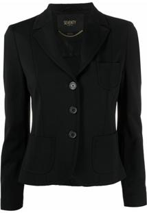 Seventy Single-Breasted Suit Jacket - Preto