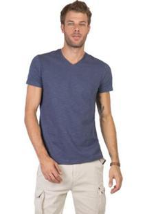 Camiseta Gola V Flamê Fit Premium Taco Masculina - Masculino