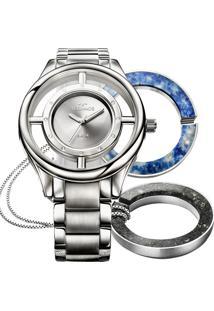 2a94f2a1187 Relógio Digital Analogico Clock feminino