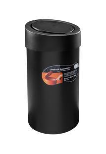 Lixeira Press 20 X 20 X 39,5 Cm 9 L Preto Coza