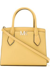 Michael Michael Kors Bolsa Tote Messenger - Amarelo