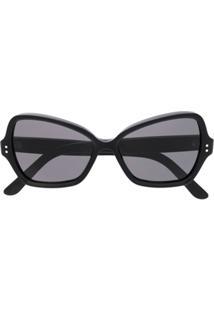 8a57904b8f131 Celine Eyewear Óculos De Sol  Butterfly  - Preto