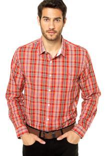 Camisa Iódice Denim Xadrez Vermelha