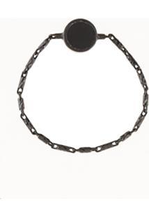 Xte Chain Band Ring - Preto