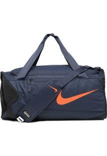 Mala Esportiva Nike Alpha M Duff Azul-Marinho