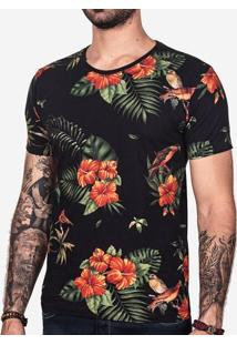 Camiseta Tropical Birds 101301