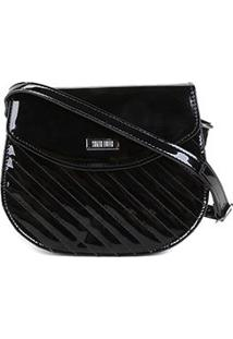Bolsa Santa Lolla Mini Bag Transversal Feminina - Feminino-Preto