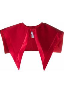 Atu Body Couture Cachecol Oversized - Vermelho