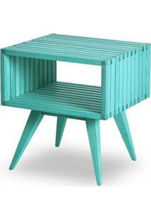 Mesa Apoio Dominoes Estrutura Azul 22Cm - 61479 - Sun House