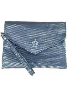 Bolsa Clutch Duccini Queóps Metalizada - Tricae