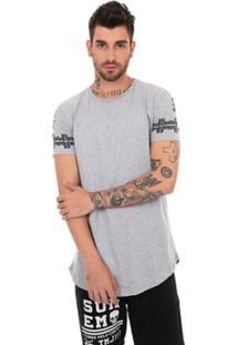 Camiseta Sumemo Detalhe Nas Costas - Masculino