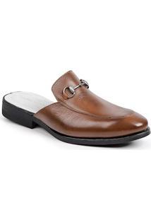 Sapato Mule Masculino Sandro Moscoloni Colection Marrom Claro