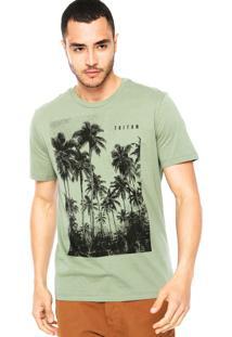Camiseta Triton Àrvores Verde