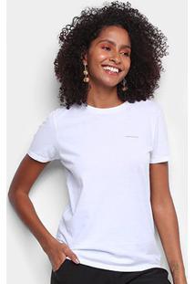 Blusa Calvin Klein Feminina - Feminino-Branco