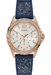 Relógio Guess Feminino Borracha Azul - 92714Lpgsru2