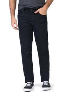 Calça Jeans Straight Flex Black Masculina - Masculino-Preto