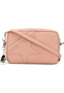 Golden Goose Star Leather Shoulder Bag - Neutro